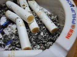 たばこが原因の火災とは